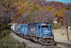 Photo 4084<br /> Conrail; Pattenburg, New Jersey<br /> October 1998