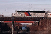 Photo 0614<br /> New Jersey Transit; West End, Hoboken, New Jersey<br /> January 14, 1998