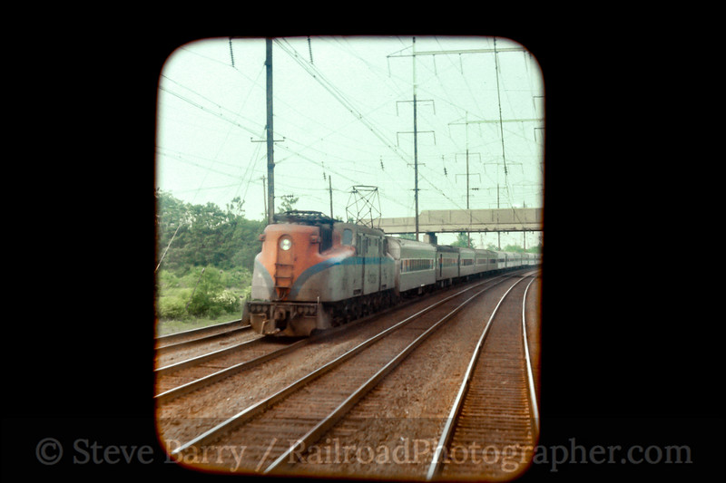 Amtrak; North Brunswick NJ; 5/1977