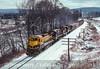 Photo 2705 New York, Susquehanna & Western (on D&H); Bainbridge, New York February 1989