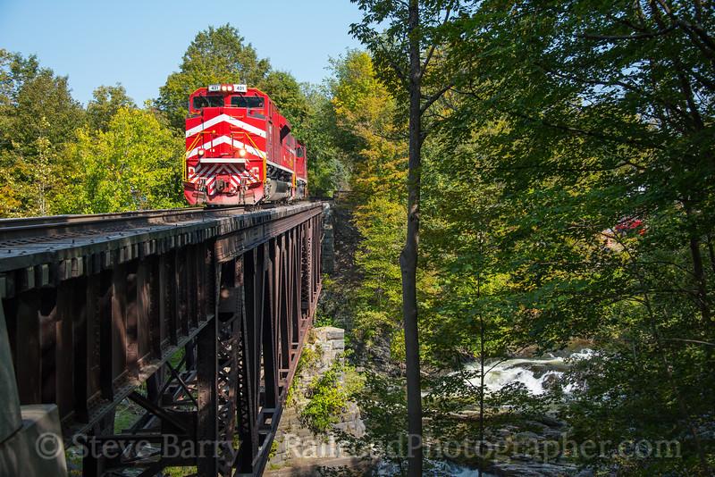 Photo 4306<br /> Vermont Rail System<br /> North Hoosick, New York<br /> September 11, 2017