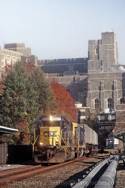 Photo 0221<br /> CSX Transportation; West Point, New York<br /> November 5, 1999