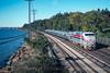Photo 4720<br /> Amtrak<br /> Irvington, New York<br /> October 1999