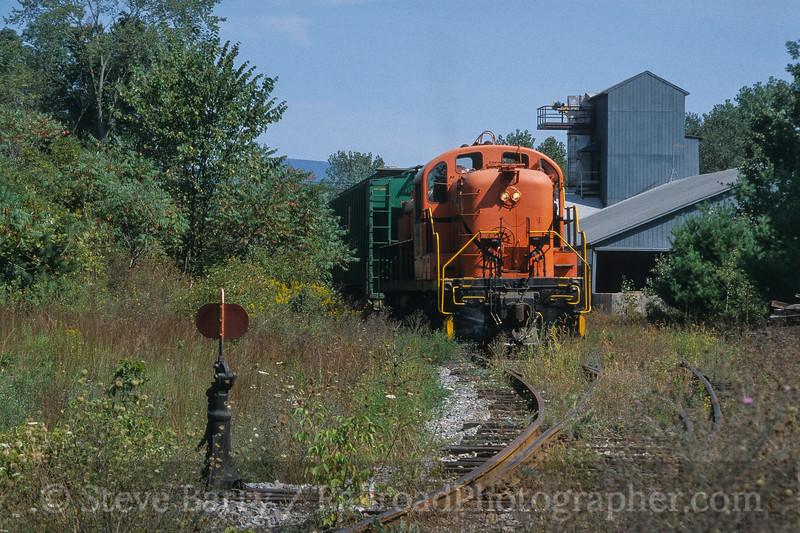 Photo 4184<br /> Batten Kill; Greenwich Junction, Salem, New York<br /> September 2003