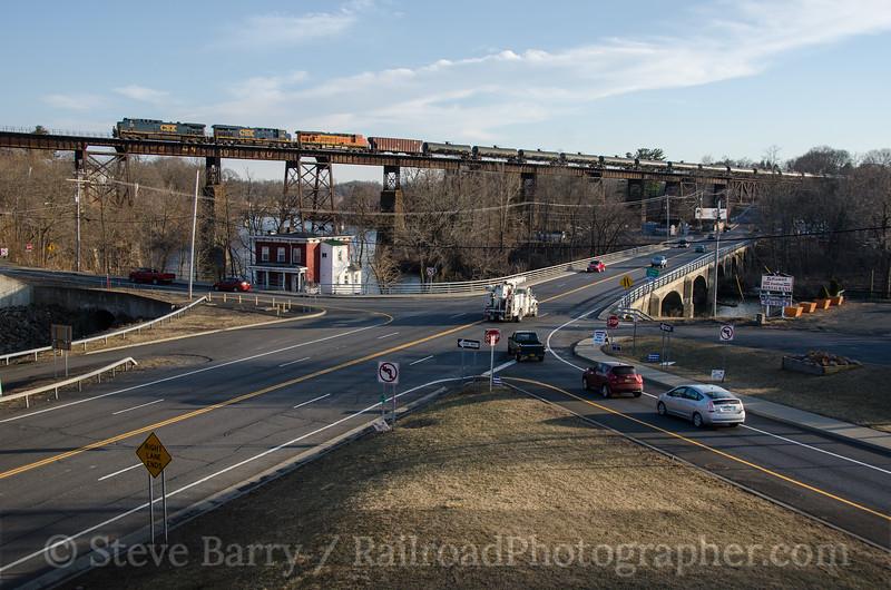 Photo 3693<br /> CSX Transportation; Catskill, New York<br /> March 9, 2016