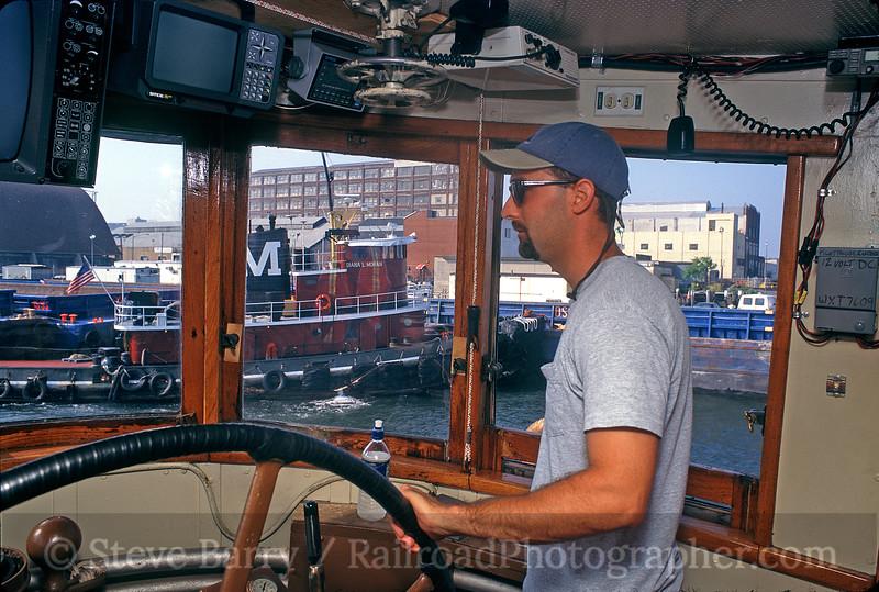 Photo 0417<br /> New York Cross Harbor; Brooklyn, New York<br /> July 2000