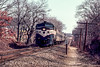 Photo 2195<br /> Long Island Rail Road; Kings Park, New York<br /> March 5, 1983