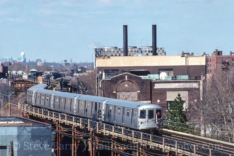 Photo 3558<br /> New York City Transit Authority; West 8 Street, Brooklyn, New York<br /> April 1, 1995