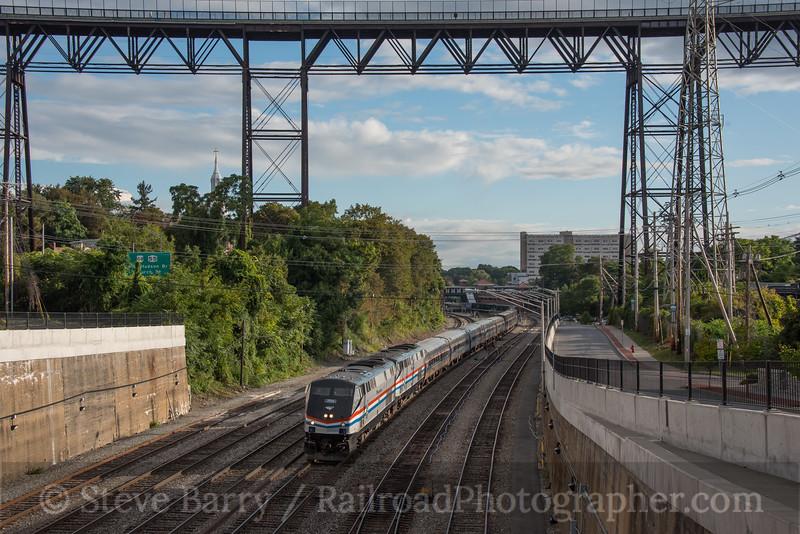 Photo 4310<br /> Amtrak<br /> Poughkeepsie, New York<br /> September 13, 2017