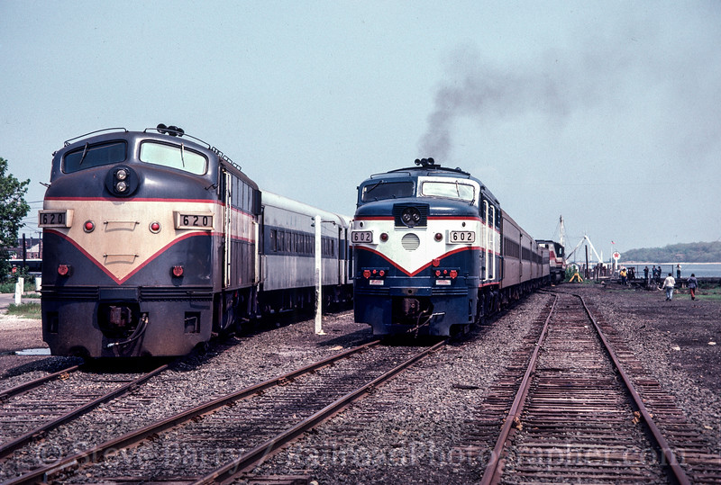 Photo 2196<br /> Long Island Rail Road; Greenport, New York<br /> May 1981