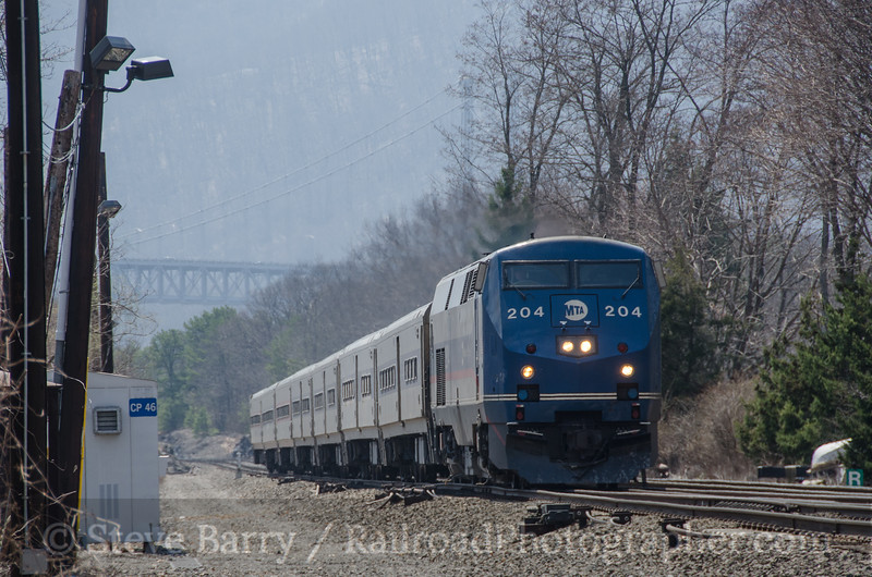 Photo 3126<br /> Metro-North; Manitou, New York<br /> April 13, 2014