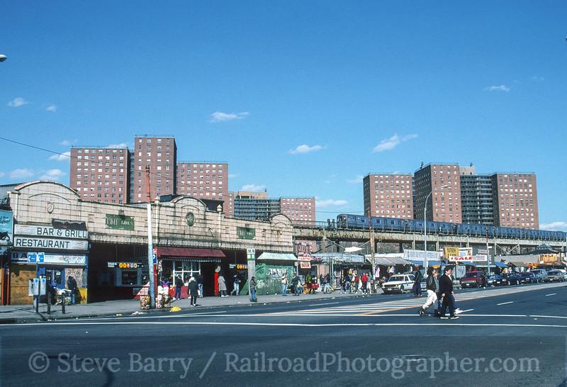 Photo 3563<br /> New York City Transit Authority; Stillwell Avenue, Brooklyn, New York<br /> April 1, 1995