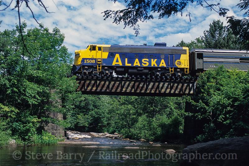 Photo 3769<br /> Adirondack Scenic; Forestport, New York<br /> June 2000