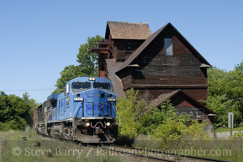 Photo 1001<br /> Norfolk Southern (on Canadian Pacific/D&H); Cobleskill, New York<br /> August 5, 2007