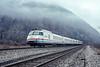 Amtrak; Breakneck Ridge NY; 3/1992