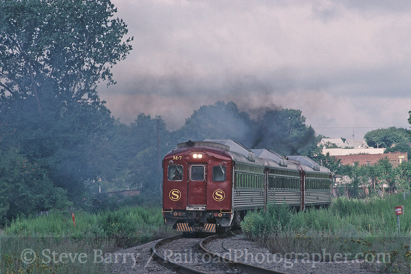 Photo 0427<br /> New York, Susquehanna & Western On-Track; Jamesville Beach, New York<br /> July 10, 1998