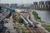 Photo 4258<br /> Metro North<br /> High Bridge, The Bronx, New York<br /> July 10, 2017