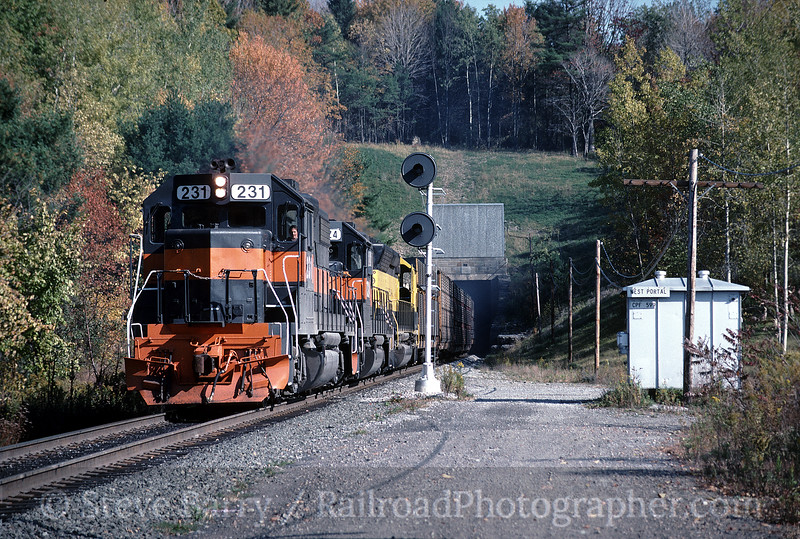 Photo 0271<br /> Guilford Transportation (Delaware & Hudson); Tunnel, New York