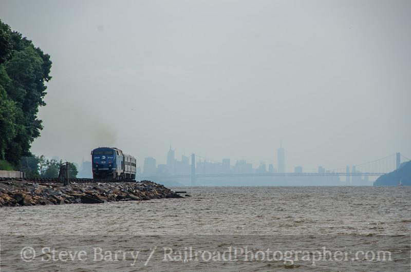Metro North; Dobbs Ferry NY; 7/27/13