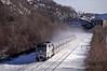 Photo 0321<br /> Metro North; Breakneck Ridge, Cold Spring, New York<br /> November 2000