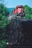 Photo 4152<br /> Canadian Pacific; Harpursville Trestle, Harpursville, New York<br /> May 1998