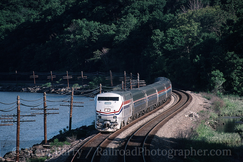 Photo 1218<br /> Amtrak; Roa Hook, Peekskill, New York