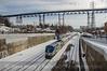 Photo 3068<br /> Amtrak; Poughkeepsie, New York<br /> February 8, 2014