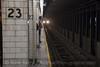 Photo 2276<br /> New York City Transit Authority; 23rd Street, New York, New York<br /> January 27, 2012
