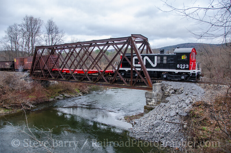Photo 3590<br /> Cooperstown & Charlotte Valley; Cooperstown, New York<br /> November 14, 2015