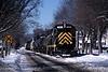 Photo 0055<br /> BH Rail (Bath & Hammondsport); Painted Post, New York<br /> January 28, 2005