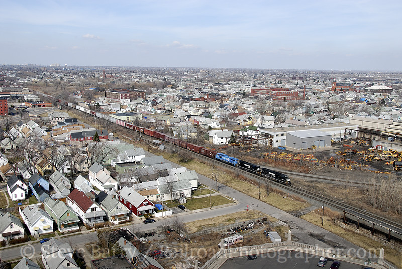Photo 1131<br /> Norfolk Southern; Buffalo, New York<br /> April 5, 2008