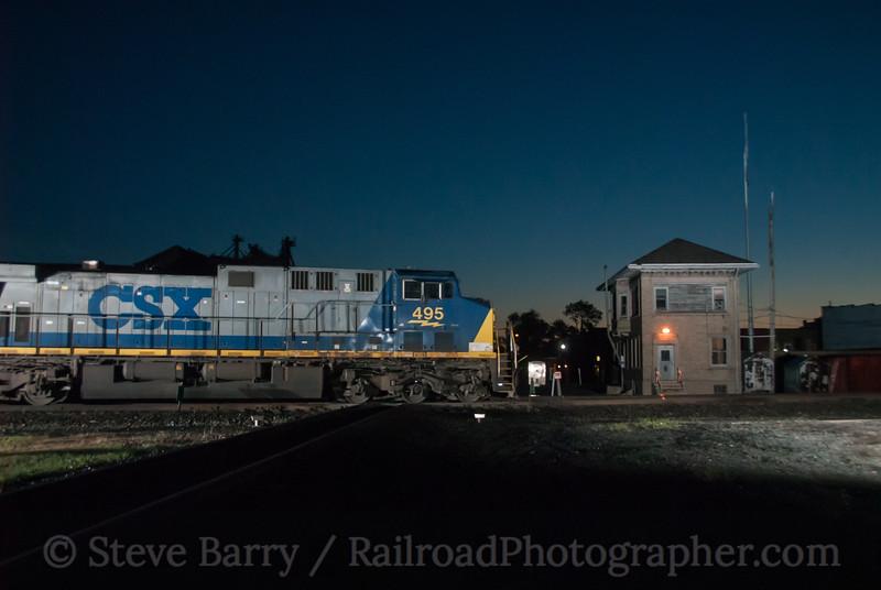 Photo 3128<br /> CSX Transportation; Deshler, Ohio<br /> May 16, 2014