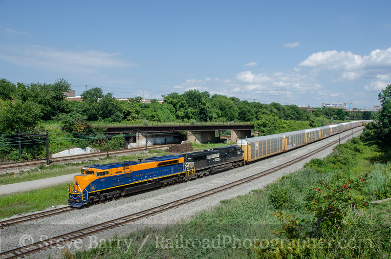 Photo 2760<br /> Norfolk Southern; Cleveland, Ohio<br /> August 11, 2013