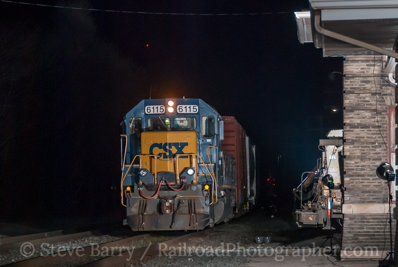 Photo 2878<br /> CSX Transportation; Fostoria, Ohio<br /> April 12, 2012