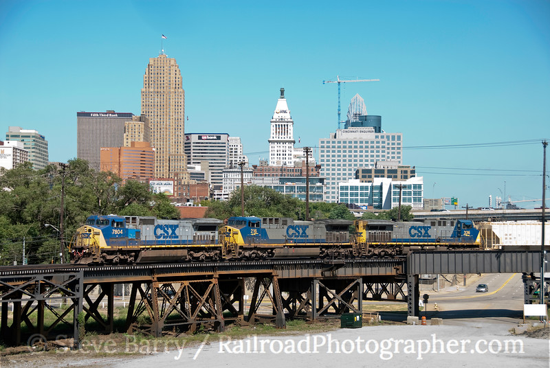 Photo 1914<br /> CSX Transportation; Cincinnati, Ohio<br /> August 16, 2010