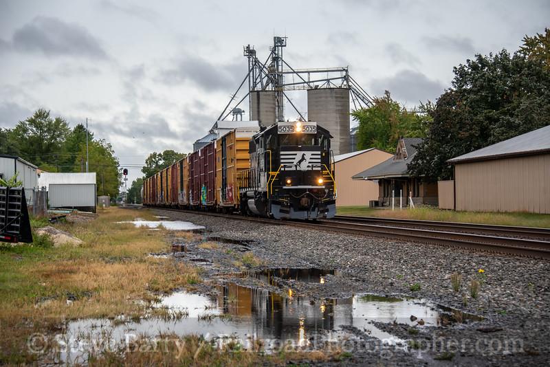 Norfolk Southern; Stryker OH; 9/22/21