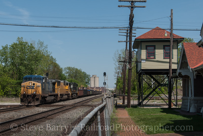 Photo 3143<br /> CSX Transportation; Marion, Ohio<br /> May 19, 2014