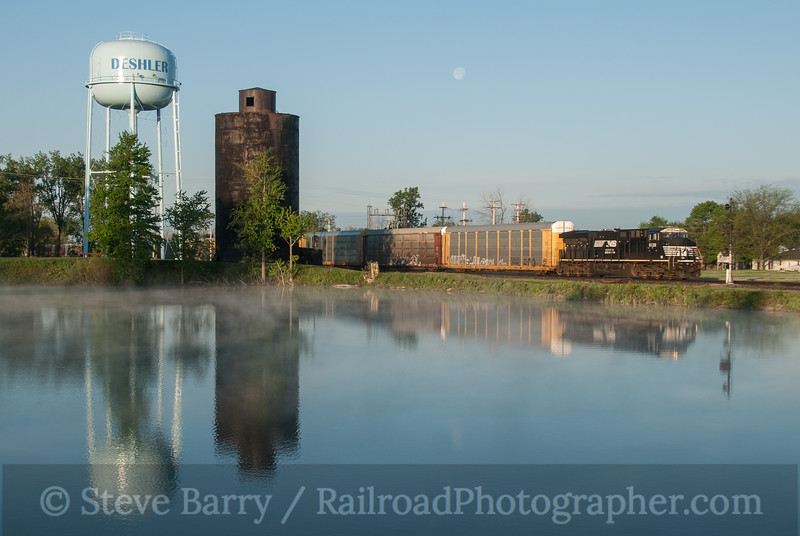 Photo 3129<br /> Norfolk Southern (on CSX); Deshler, Ohio<br /> May 16, 2014