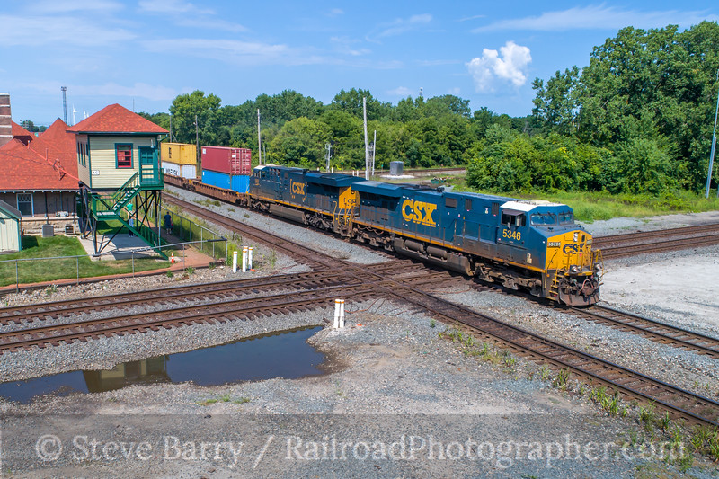 Photo 5139<br /> CSX Transportation<br /> Marion, Ohio<br /> August 12, 2018