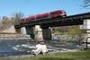 Photo 1844<br /> OC Transpo; Rideau River, Ottawa, Ontario<br /> April 14, 2010