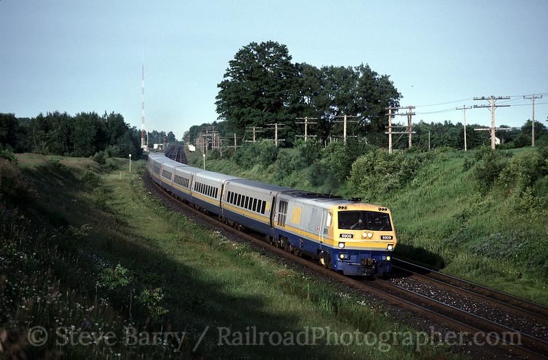 Photo 0894<br /> VIA Rail Canada; Newtonville, Ontario<br /> July 4, 1993