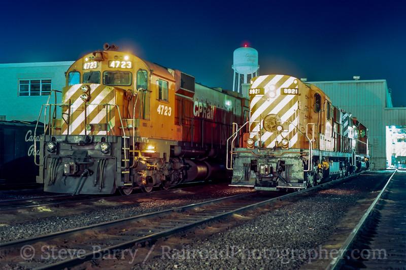 CP Rail; Agincourt ON; 8/1980