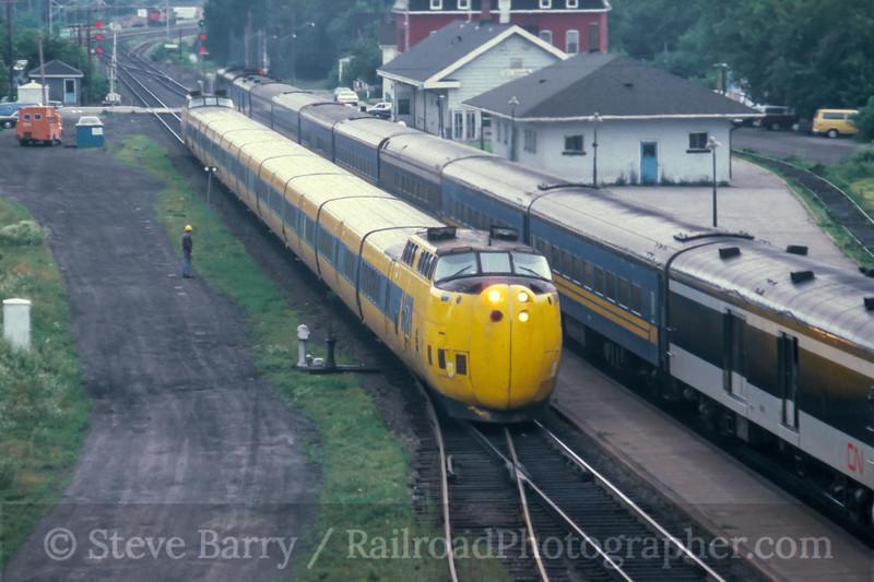 VIA; Brockville ON; 8/1980