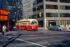 Photo 5179<br /> Toronto Transit Commission<br /> King & University, Toronto, Ontario<br /> August 1980