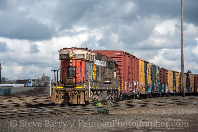 Photo 4607<br /> Portland & Western<br /> Albany, Oregon<br /> March 16, 2018