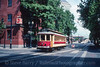 Photo 3623<br /> TriMet MAX; NW 1st & NW Couch, Portland, Oregon<br /> June 10, 1997