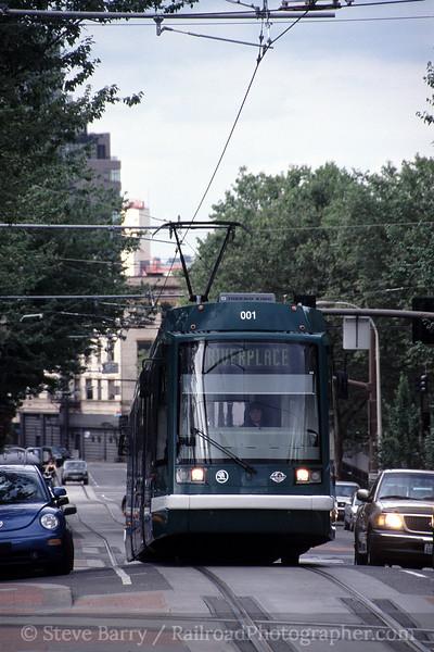 Photo 0872<br /> Portland Streetcar; Portland, Oregon<br /> July 2005
