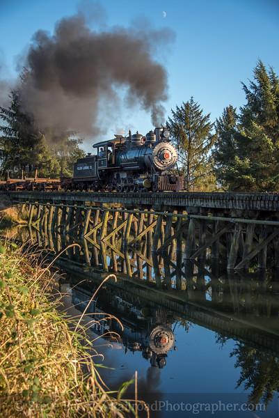 Photo 5322<br /> Oregon Coast Scenic<br /> Idaville, Oregon<br /> October 16, 2018
