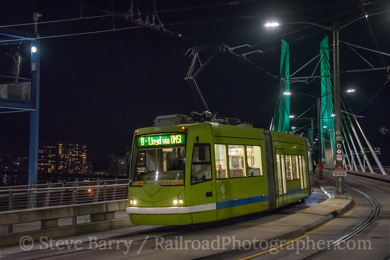Portland Streetcar; Portland OR; 10/19/18