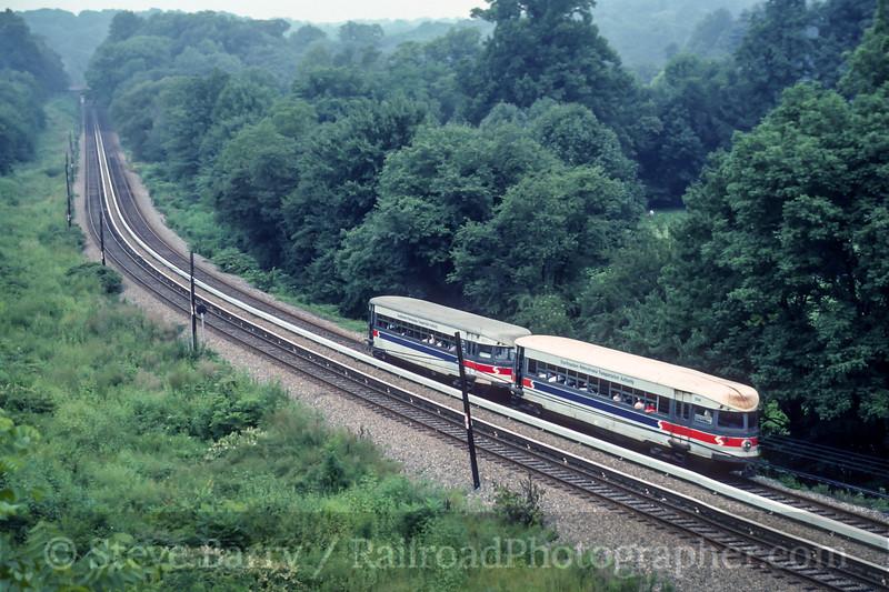 SEPTA; Upper Darby PA; 8/1990